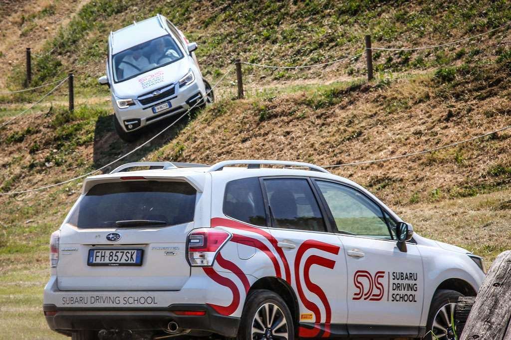 Subaru Driving School cross country
