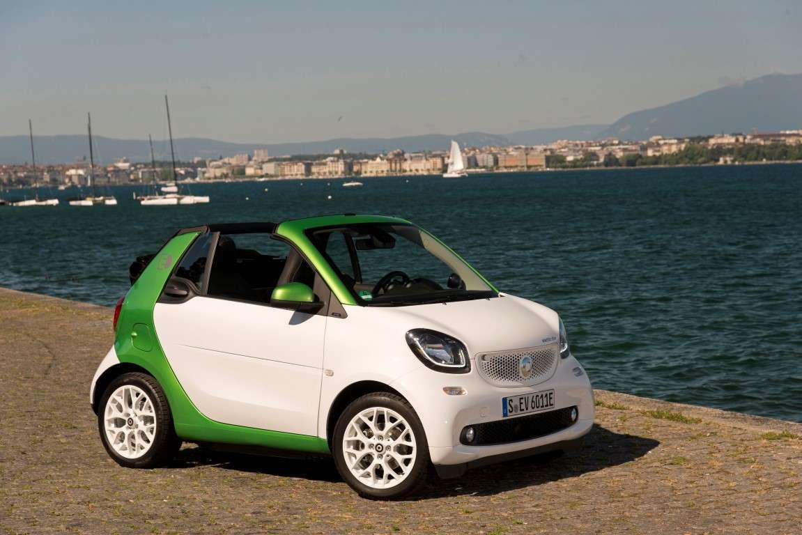 Batteria di Smart electric drive cabrio