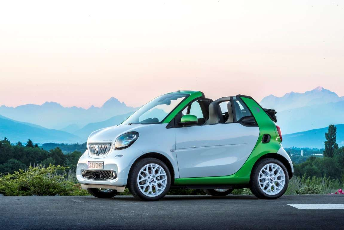 Caratteristiche di Smart electric drive cabrio