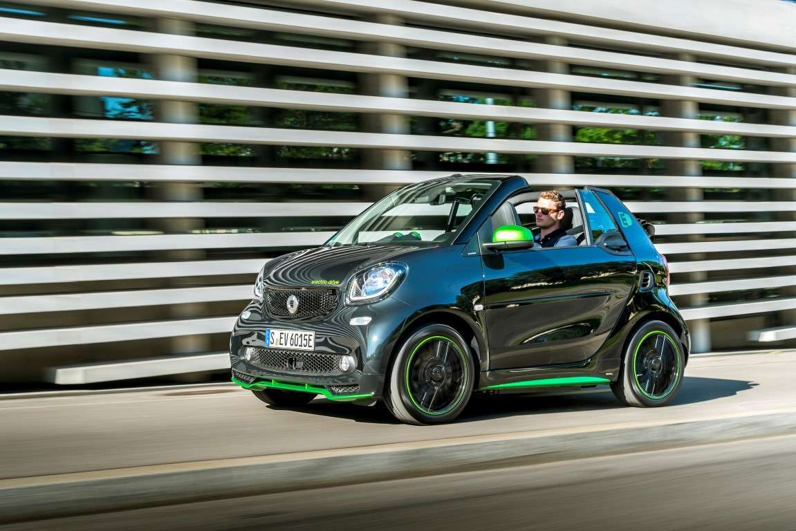 Smart electric drive cabrio con pack Brabus