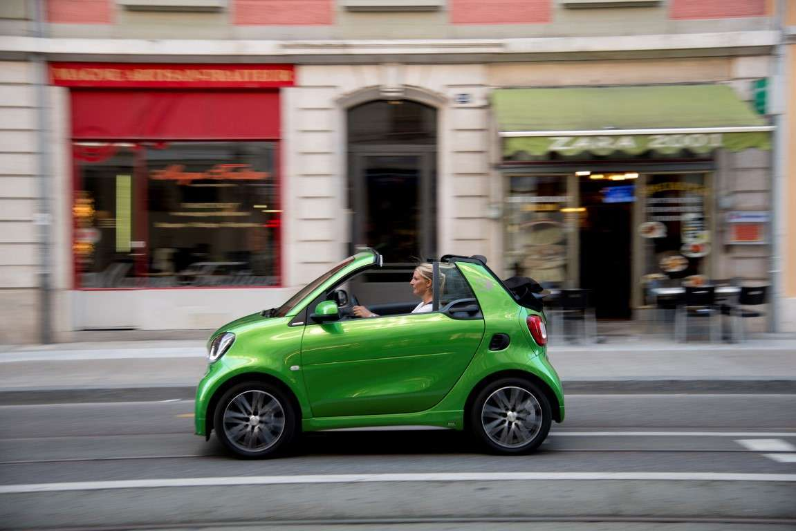 Peso di Smart electric drive cabrio