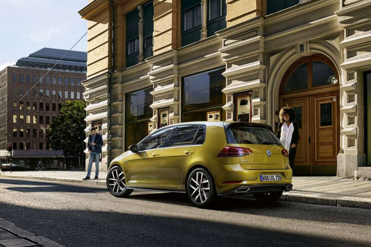 Volkswagen Golf TGI BlueMotion Technology posteriore