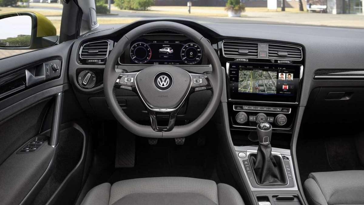 Volkswagen Golf TGI BlueMotion Technology interni