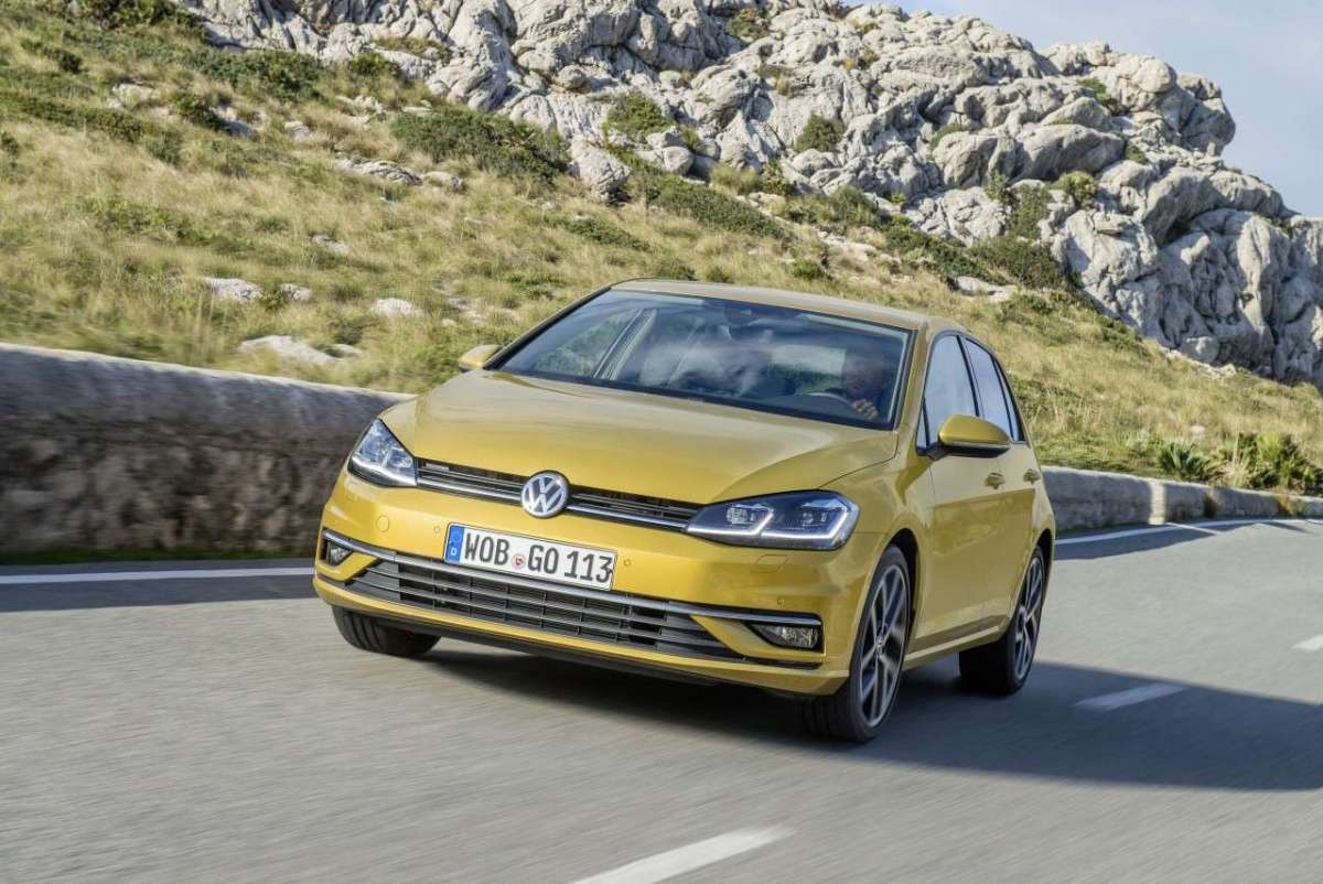 Golf 7 restyling 2017 in montagna