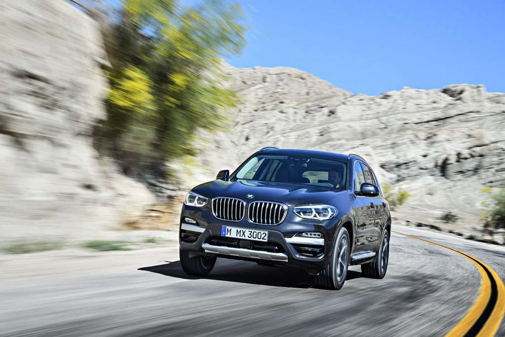 BMW X3 xDrive30d 2018 design