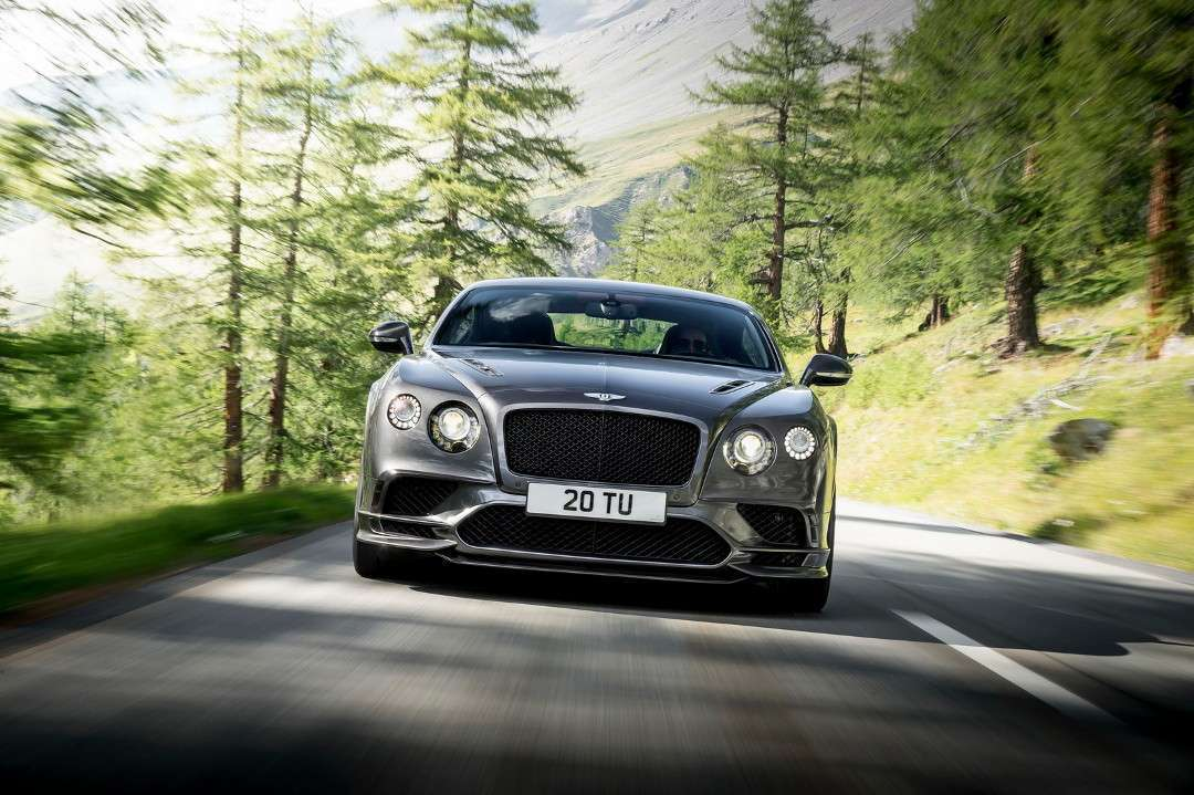Bentley Continental Supersports muso