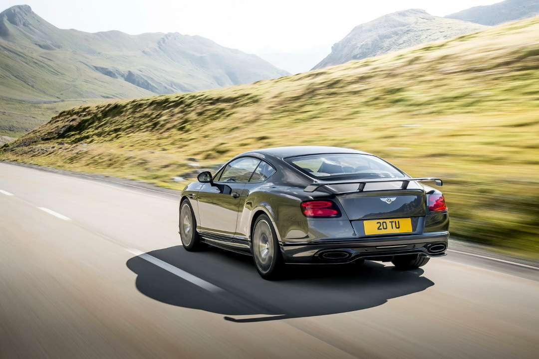 Bentley Continental Supersports posteriore