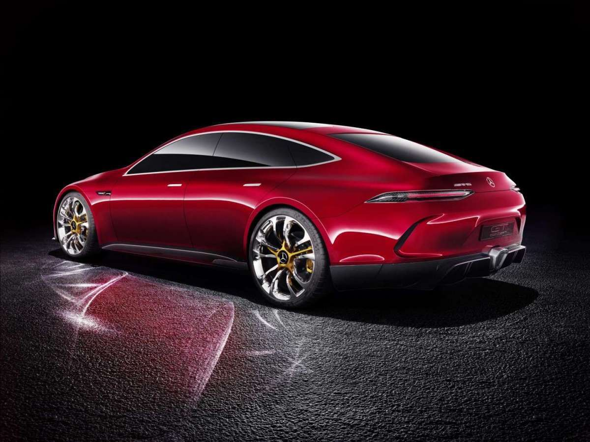 Mercedes-AMG GT Concept posteriore