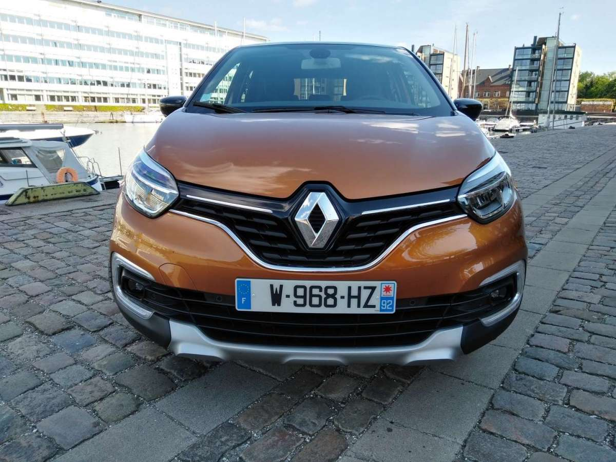 Nuovo Renault Captur 2017, musetto