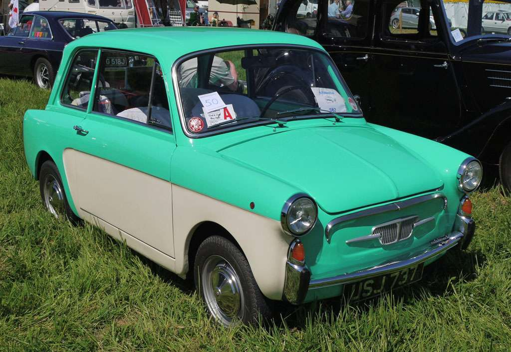 Autobianchi Bianchina Berlina bicolore