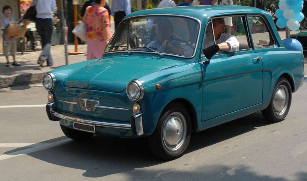 Autobianchi Bianchina Berlina carrozzeria