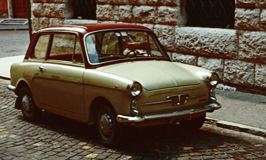 Autobianchi Bianchina Berlina finiture
