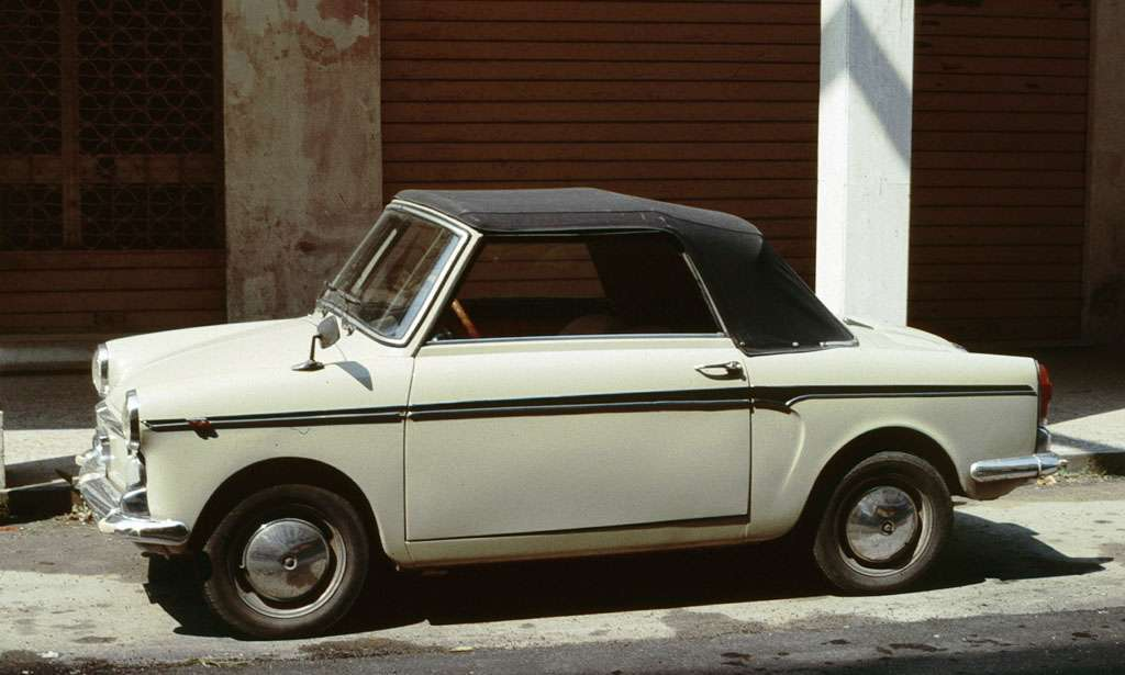 Autobianchi Bianchina Cabriolet capote
