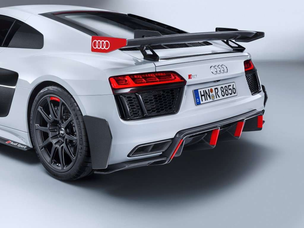 Audi R8 Performance Parts, ala posteriore