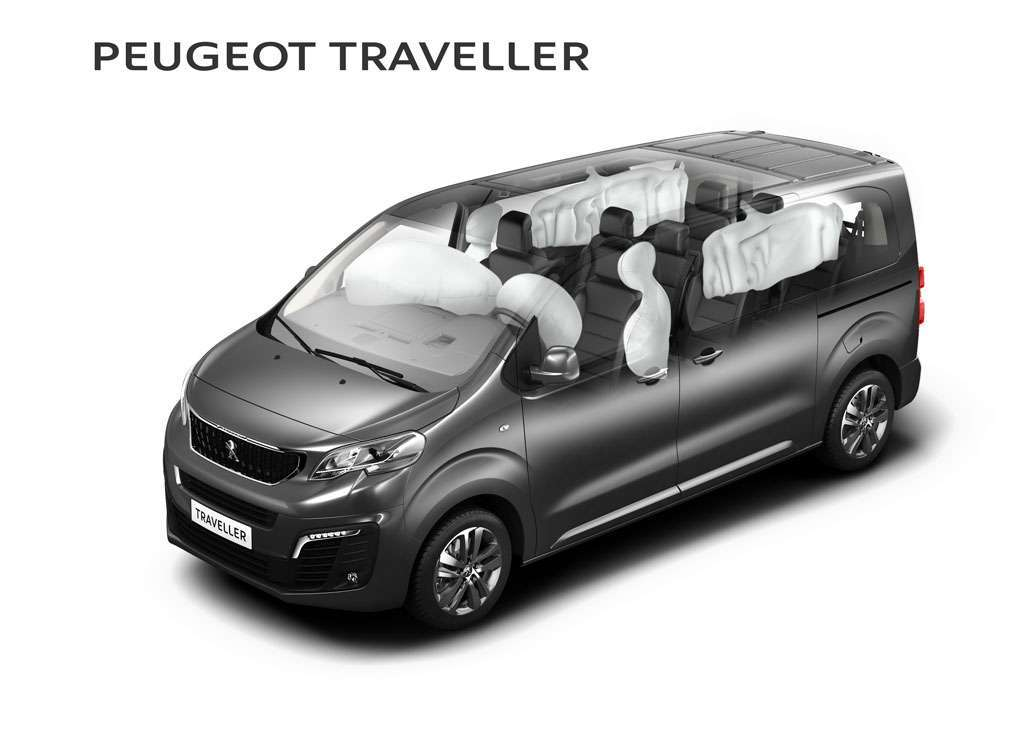 Peugeot Traveller 2017 sicurezza