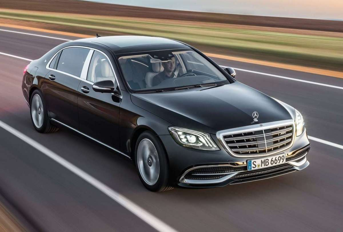 Dimensioni di Mercedes-Maybach Classe S 2018