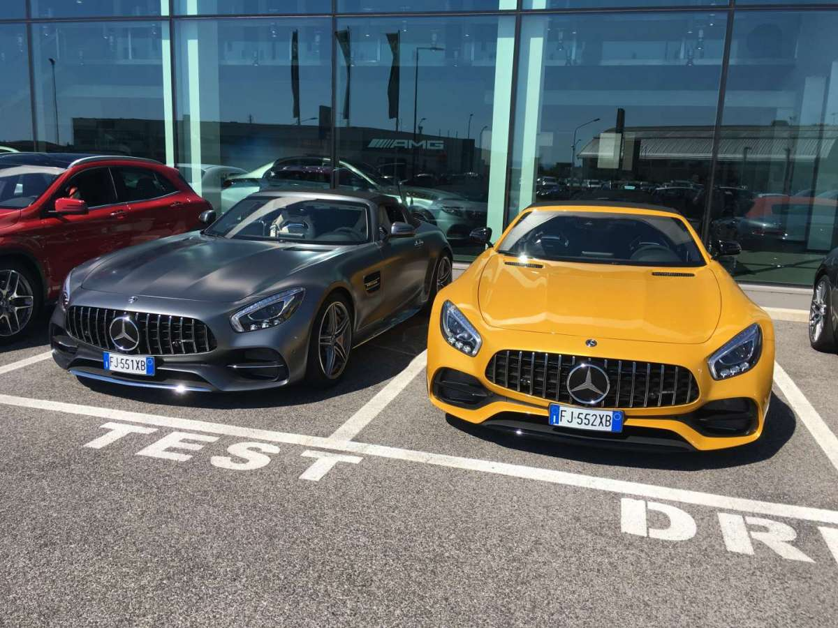 Mercedes AMG GT C , test drive
