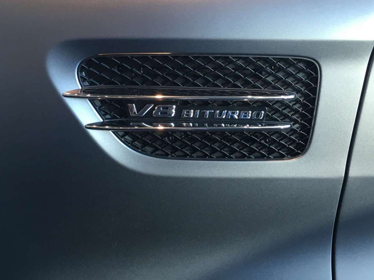 Mercedes AMG GT C, badge biturbo
