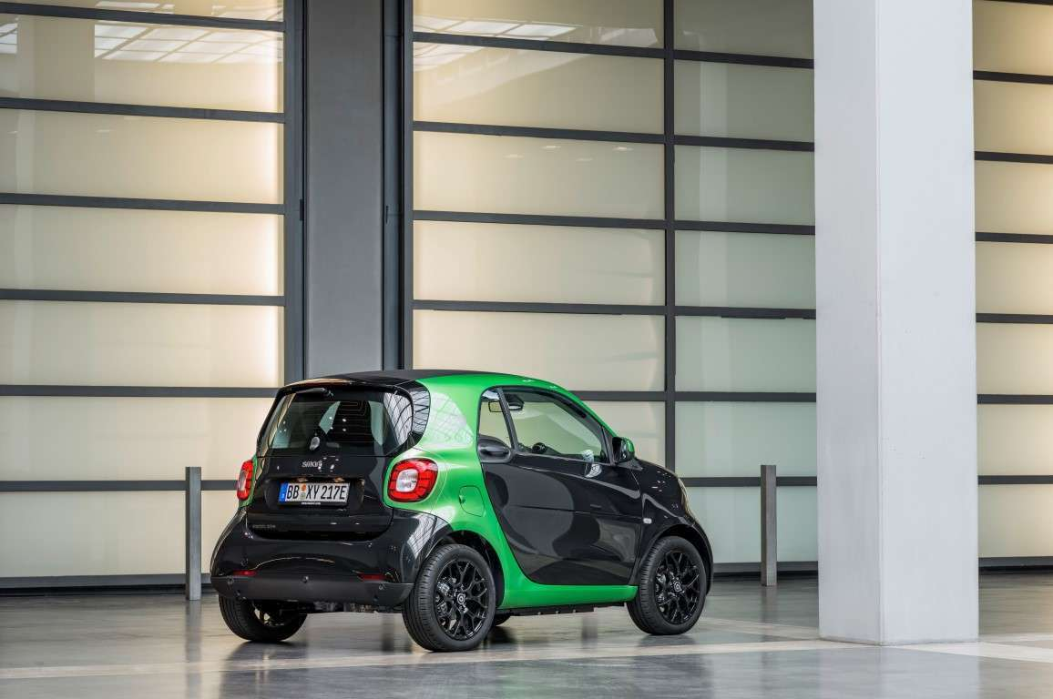 Smart ForTwo Coupé Electric Drive posteriore
