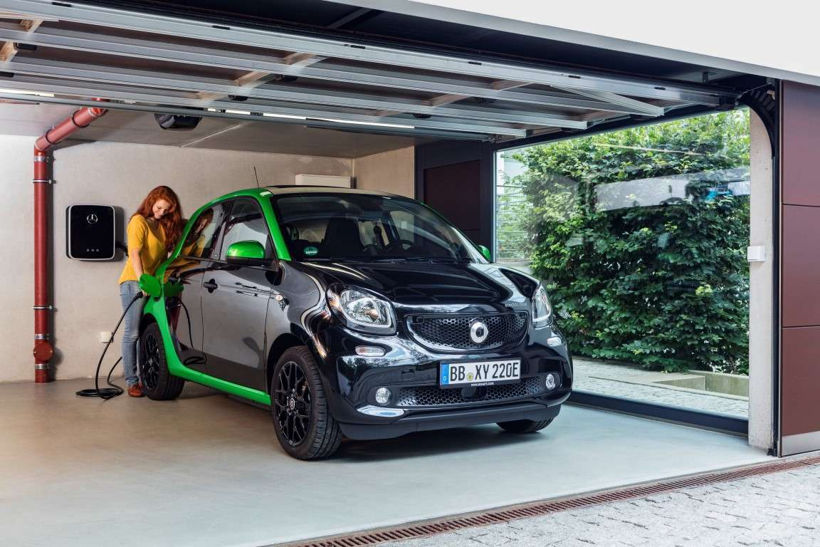 ForFour Electric Drive 2017 in carica