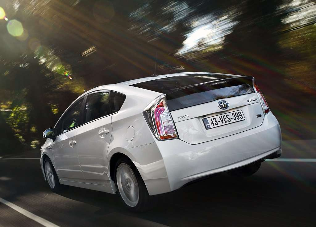 Toyota Prius 2011 restyling