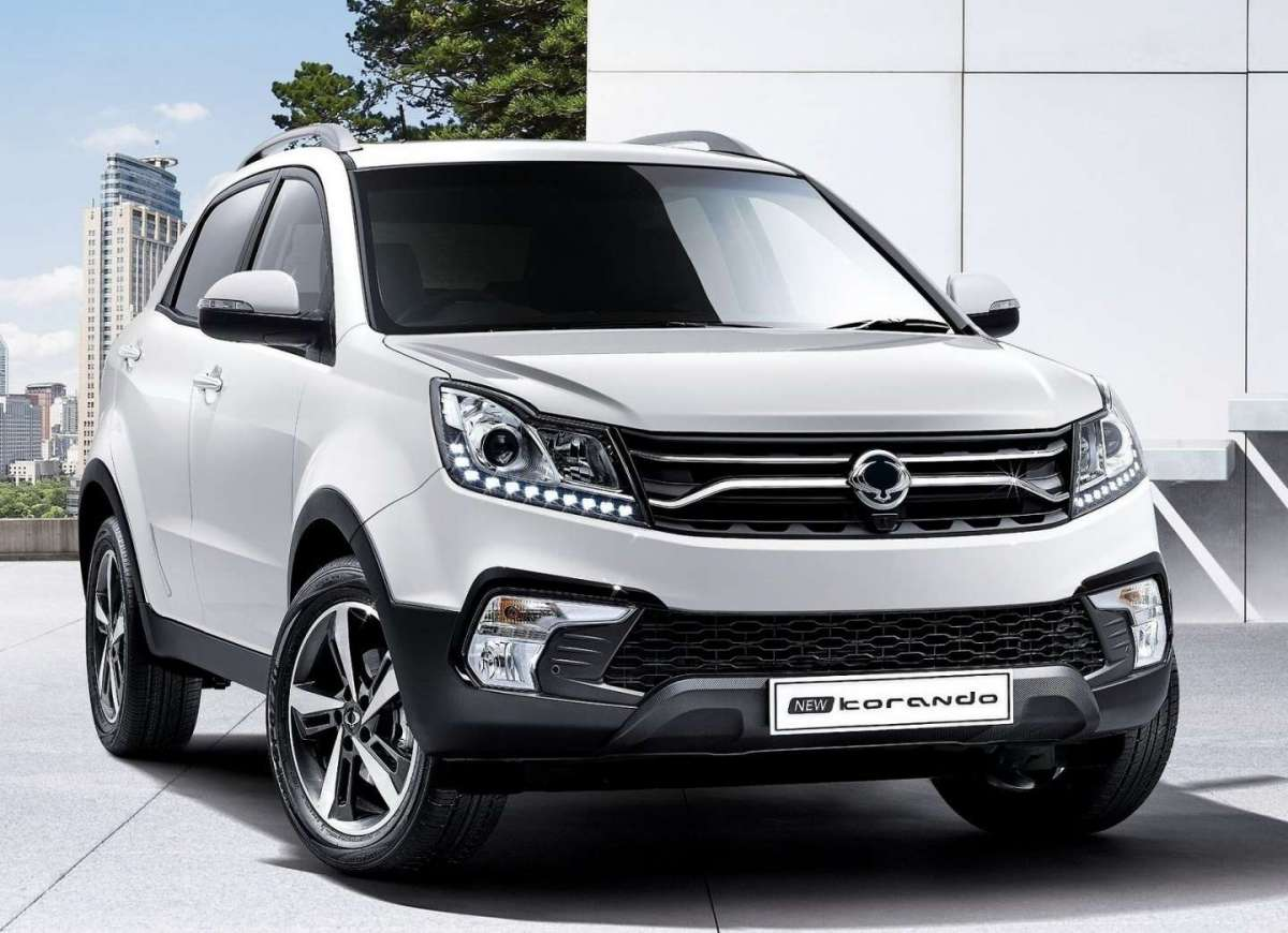 Nuovo Ssangyong Korando 2017 restyling