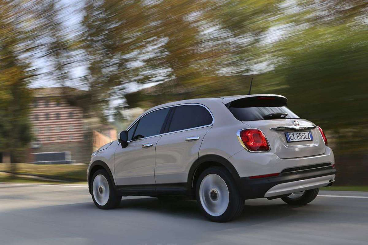 Fiat 500X EasyPower posteriore