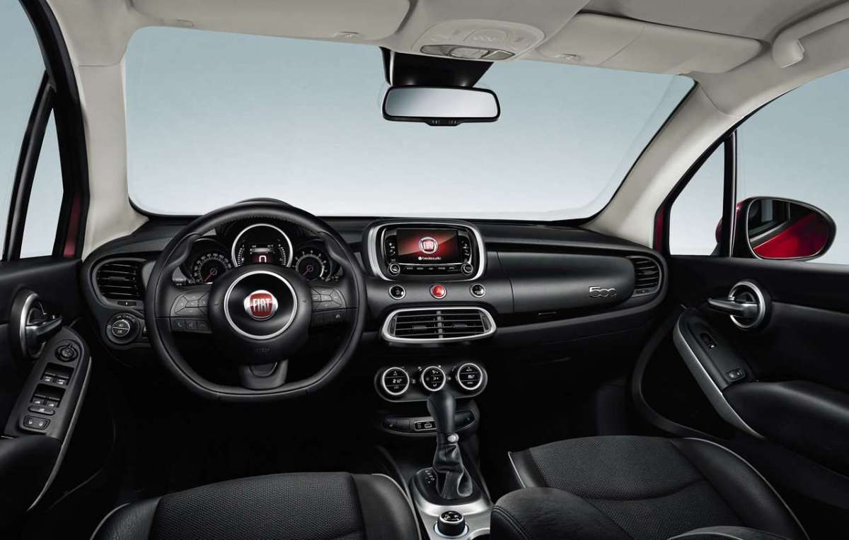 Fiat 500X EasyPower interni