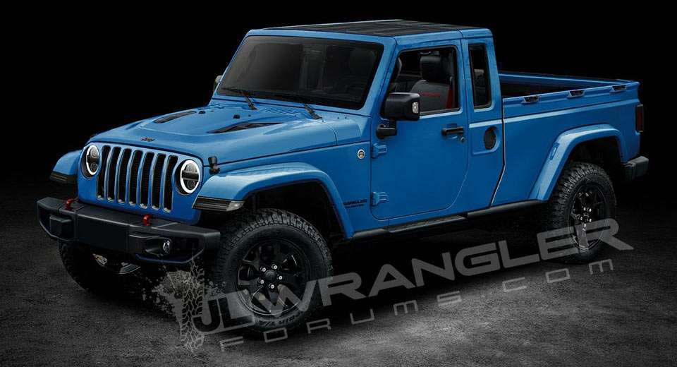 Jeep pickup render