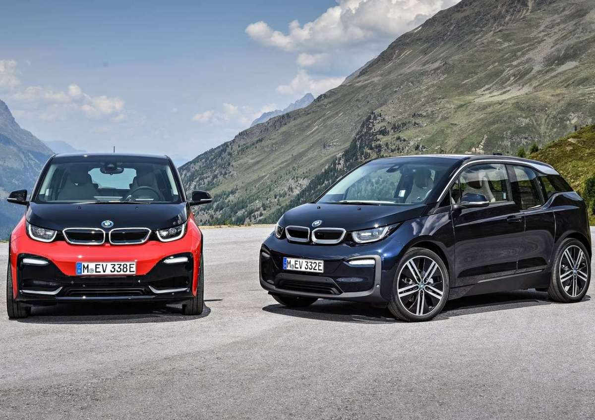 BMW i3s in posa