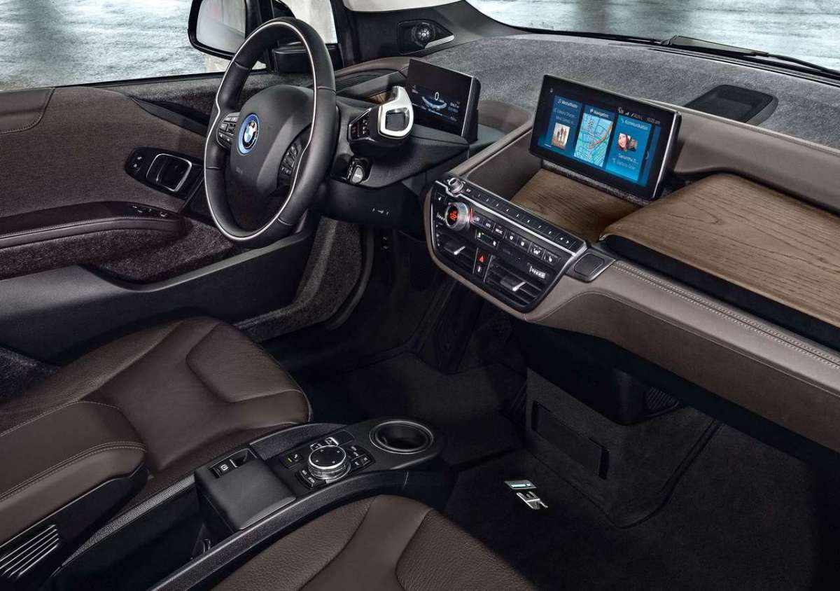 BMW i3s interni