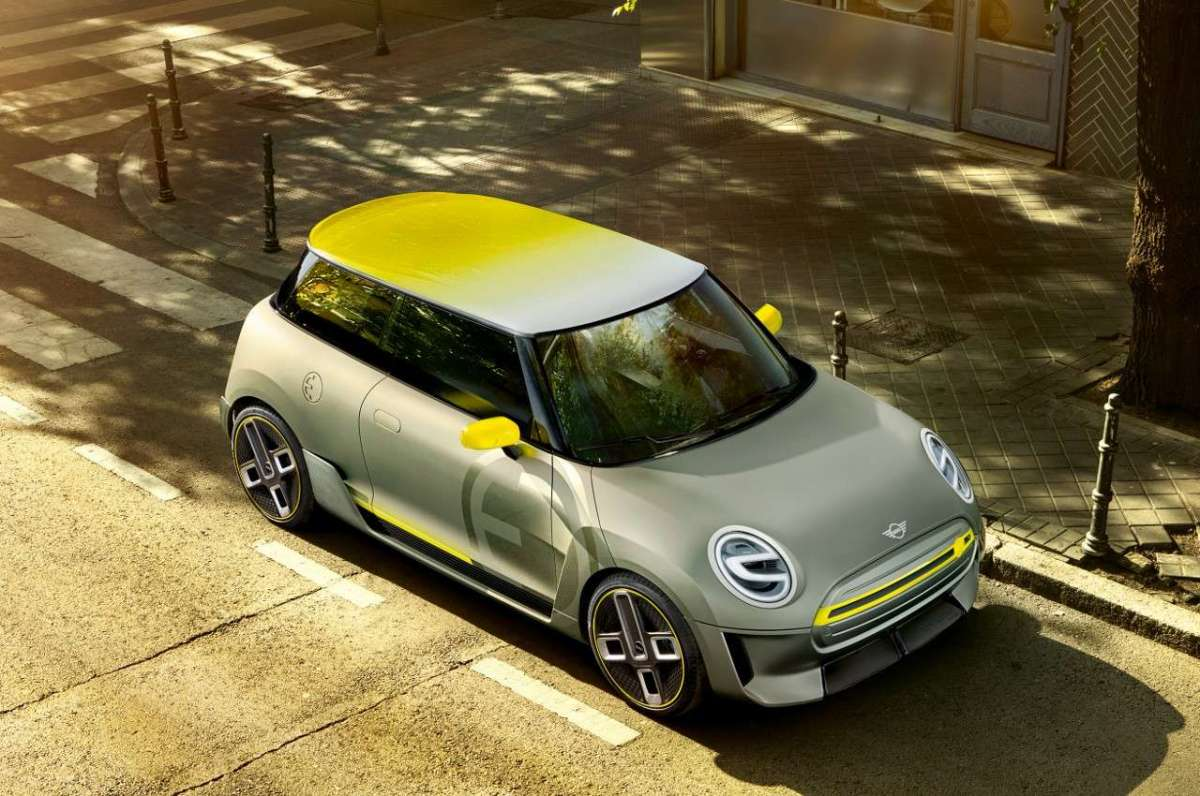 Mini Electric Concept dall'alto