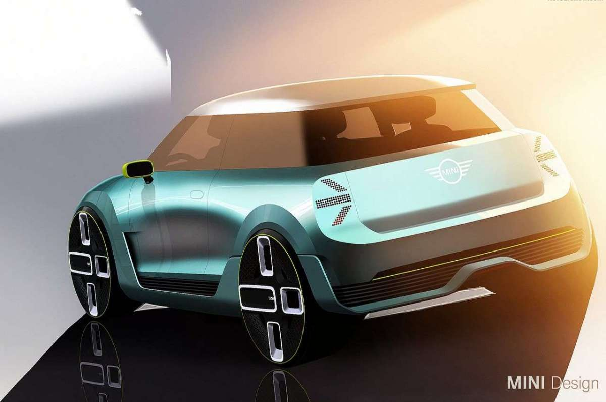 Mini Electric Concept aerodinamica