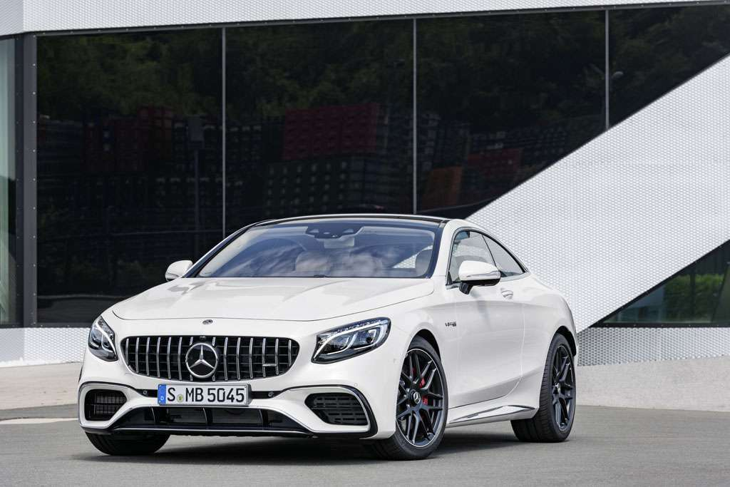 Mercedes AMG S 63 Coupé 2018 design