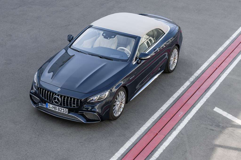 Mercedes AMG S 65 Cabriolet 2018 tetto