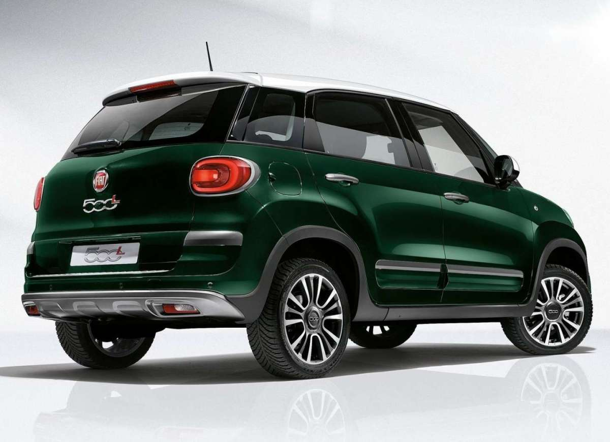 Fiat 500L Cross GPL posteriore
