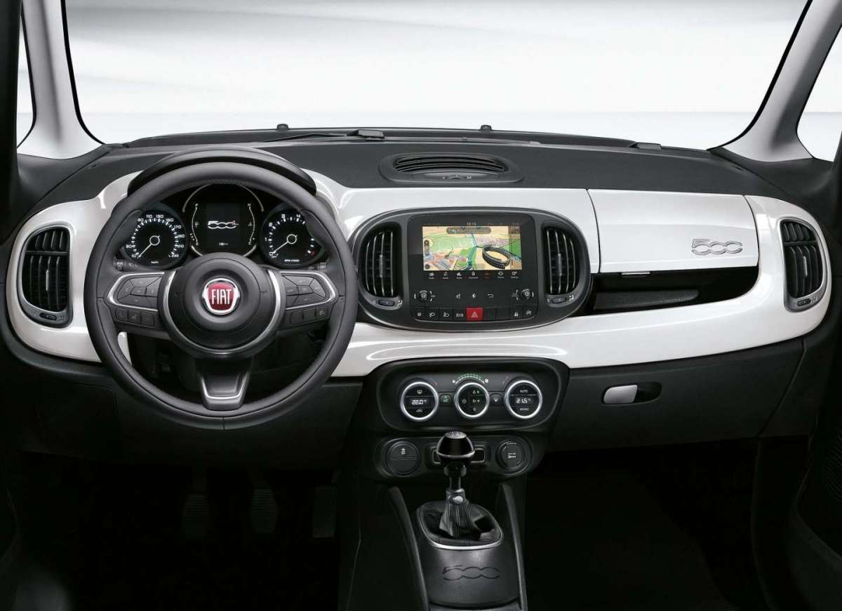 Fiat 500L GPL e Natural Power interni