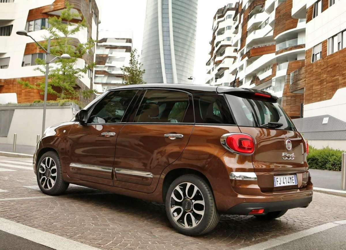 Fiat 500L GPL e Natural Power posteriore