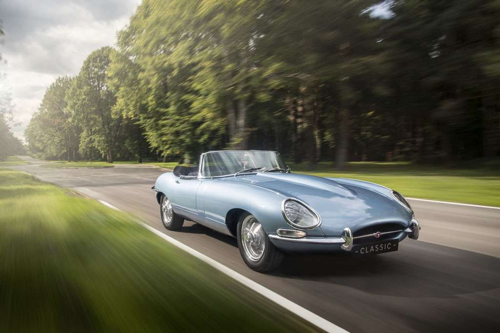 Jaguar E-Type Zero spider