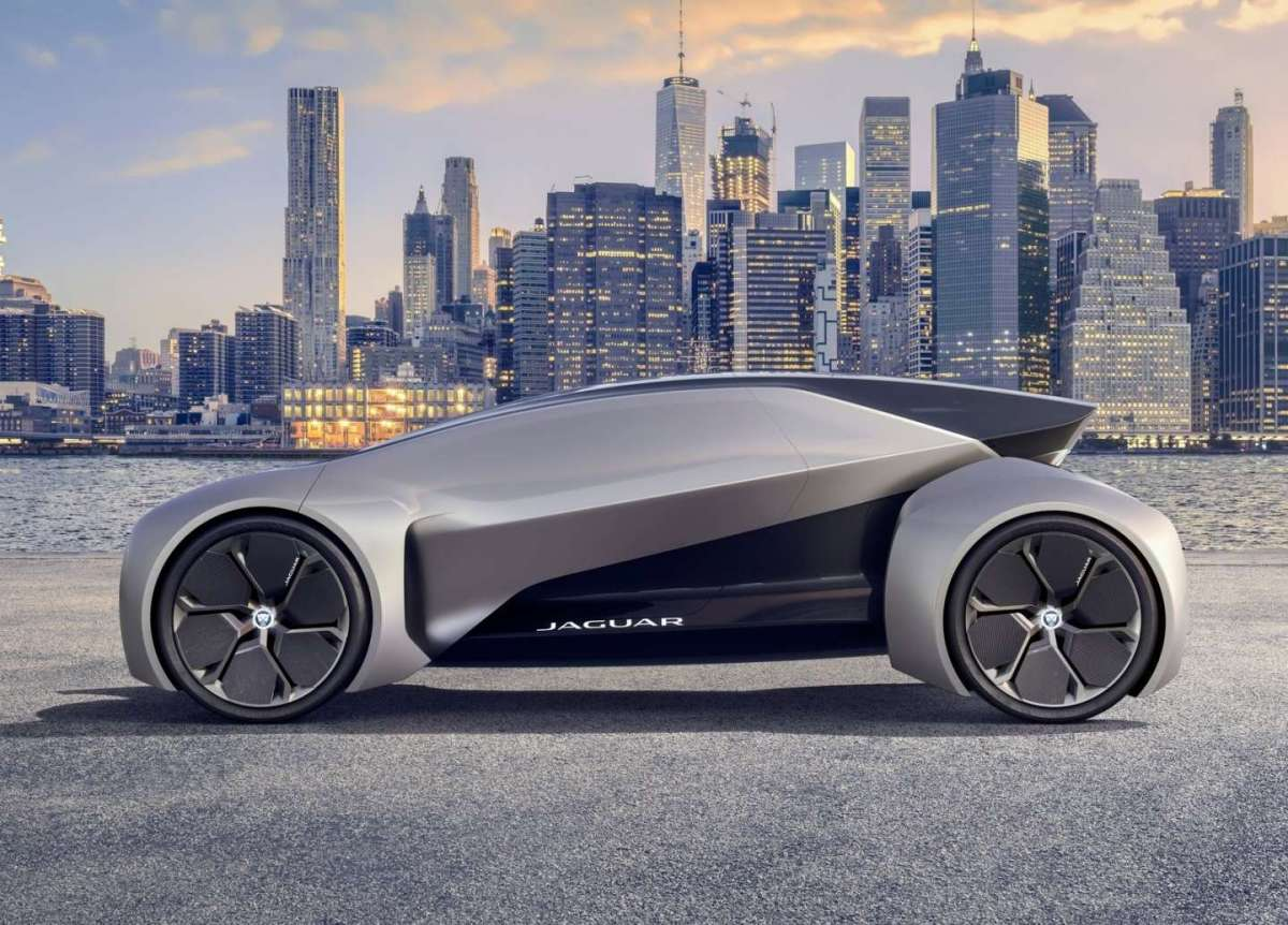 Jaguar Future-Type Concept aerodinamica