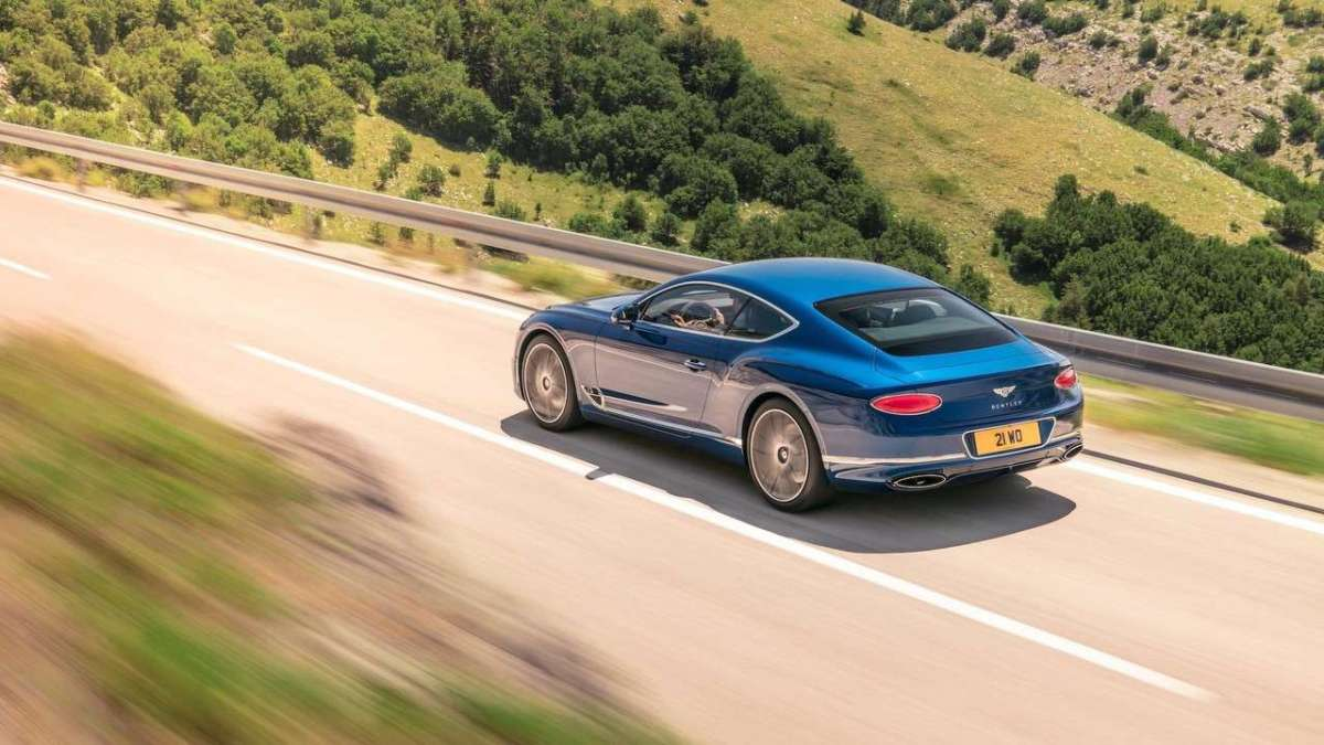 Bentley Continental GT estetica