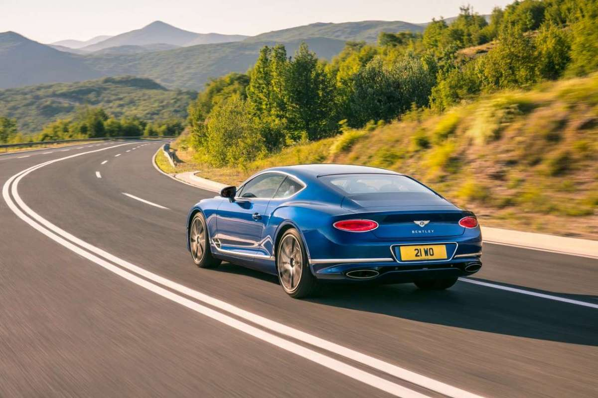 Bentley Continental GT laterale posteriore