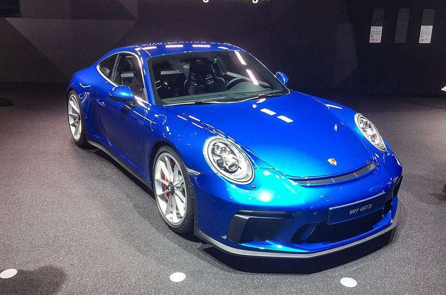 Porsche 911 GT3 Touring Package al Salone di Francoforte 2017