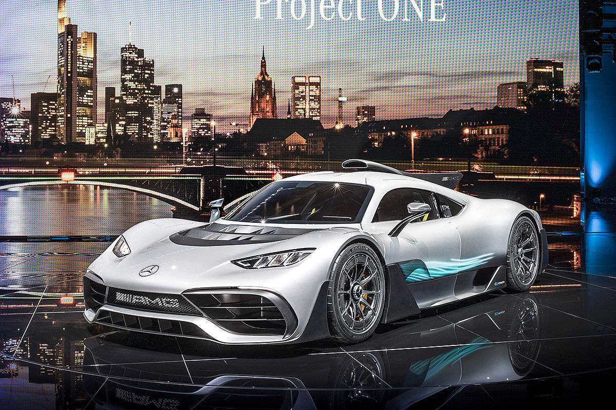 Mercedes-AMG Project One Concept a Francoforte