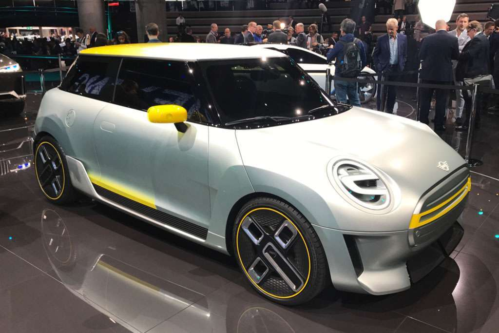 Mini Electric Concept al salone di Francoforte 2017