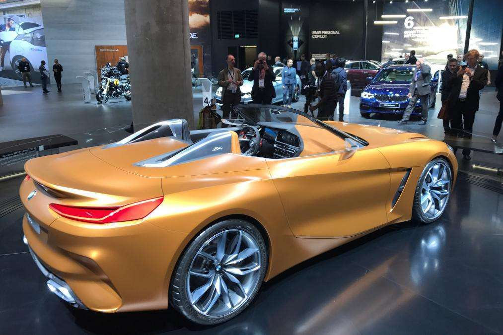 BWM Z4 Concept si mette in mostra