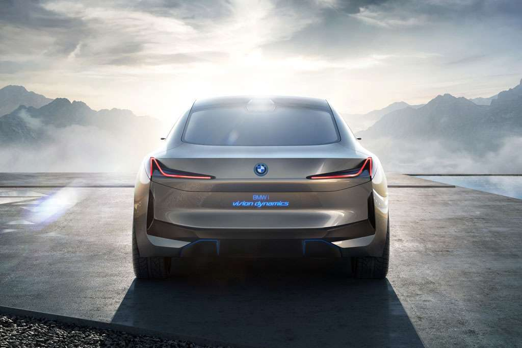 BMW i Vision Dynamics posteriore