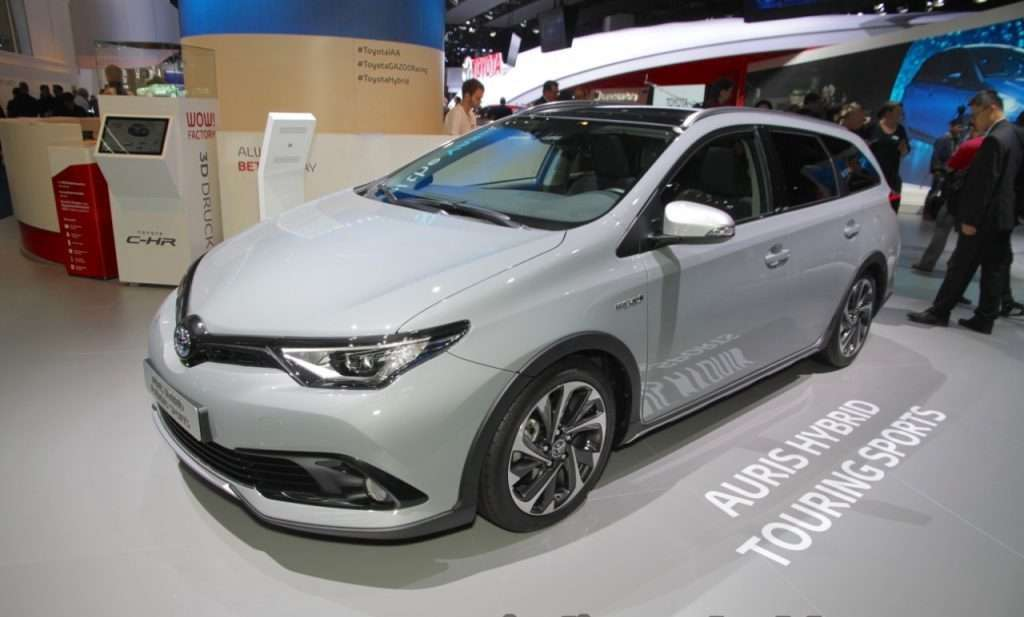 Toyota Auris Touring Sports Freestyle al Salone di Francoforte 2017