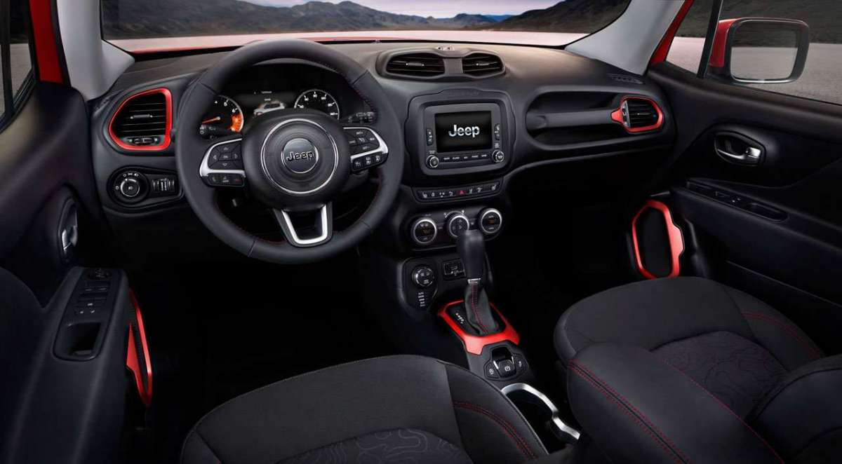Jeep Renegade GPL interni