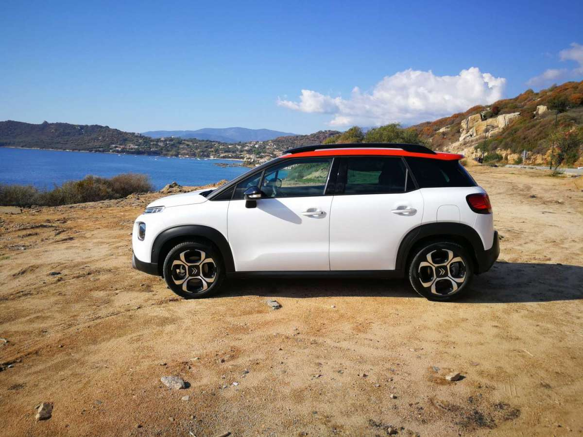 Citroen C3 Aircross 2017 dimensioni